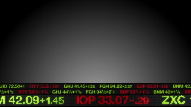Stock Market Tickers (Lower 3rd) video