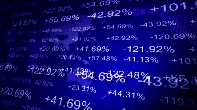 Stock market. video