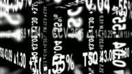 Stock Ticker Geometry - Seamlessly Looping video