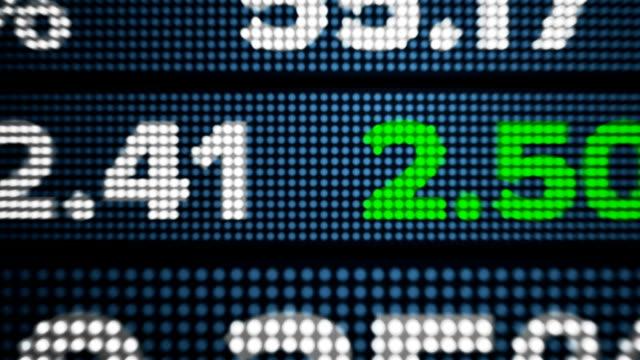Stock Ticker Wall video