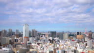 Stock video - Aerial cityscape of Tokyo video