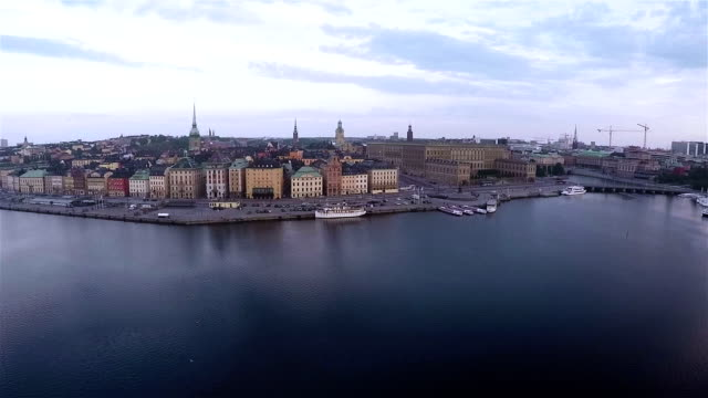 Stockholm Aerial video