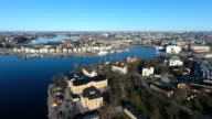 Stockholm Aerial View video