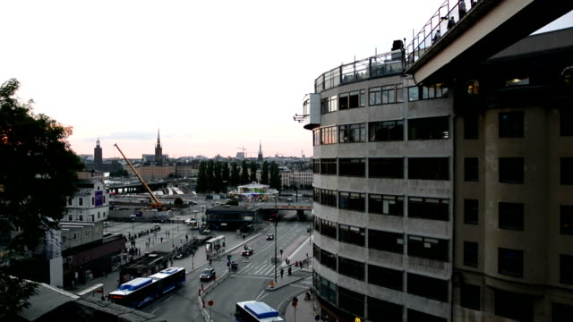 Stockholm City Office Building video