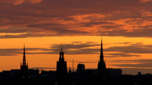 Stockholm City, Old town, Sweden, Scandinavia. video