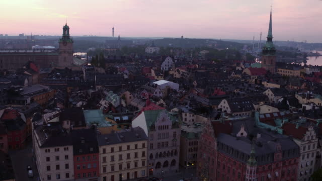 AERIAL: Stockholm, Old Town video