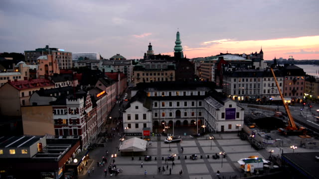 Stockholm Town Square video