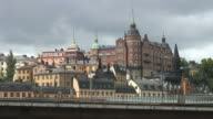 Stockholm view (timelapse) video