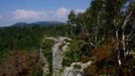 Stolowe Mountains in Silesia, Poland video