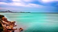 Stone and remote island video