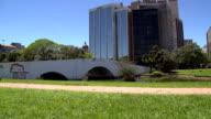 Stone Bridge in Porto Alegre City video