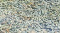 HD Stone in water video