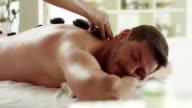 Stone massage video