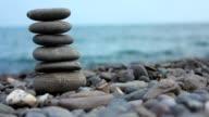 Stone On Beach video