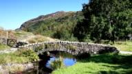 Stone Packhorse Bridge video