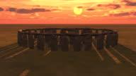 Stonehenge at sunrise video