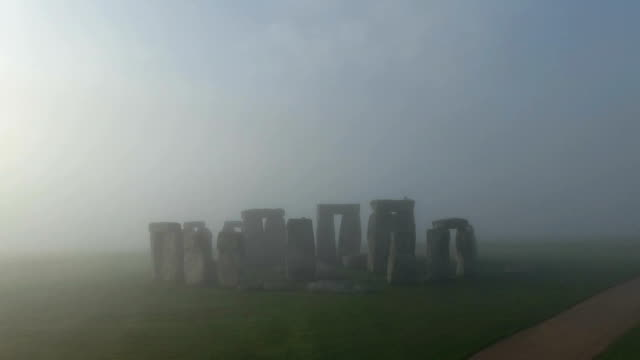 Stonehenge - Rotation to Silhouette video