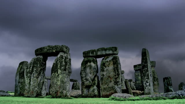 Stonehenge with cloud time lapse. N1 video