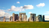 Stonehenge with cloud time lapse. N5 video