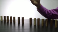 Stop domino risk effect video