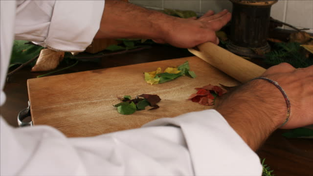 Stop motion cooking butterfly video