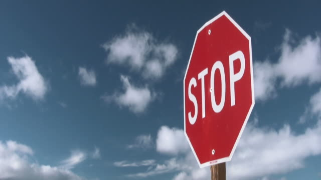 Stop Sign video