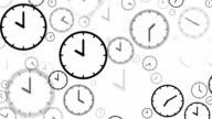 CLOCKS : stopping at 10:00 o'clock (LOOP) video