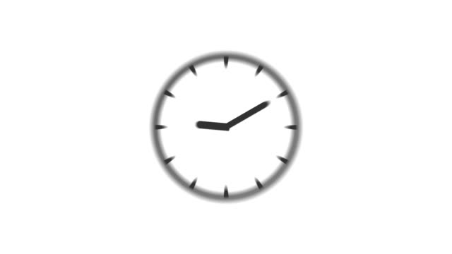 CLOCK : stopping at 5:00 o'clock (WIPE) video