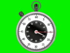 Stopwatch Ticking Animated (NTSC and PAL) video