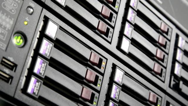 Storage disk status video