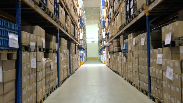 Storage warehouse video