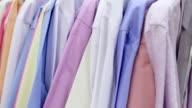 Store shirts video