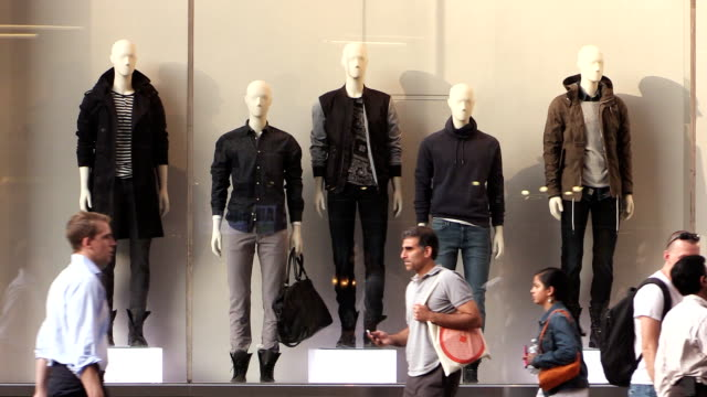 Storefront Mannequins in Manhattan New York City video
