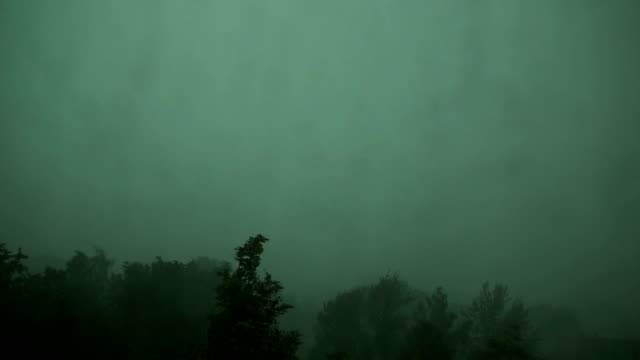 Storm and strong wind video