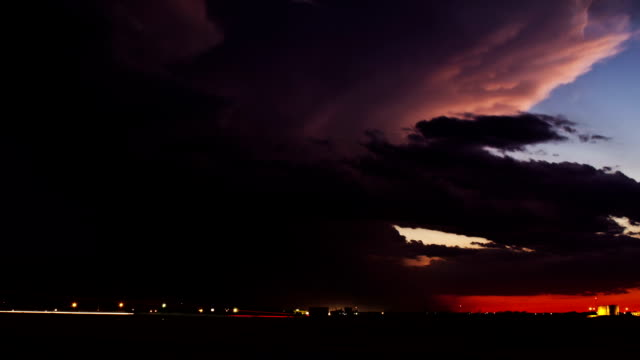 Storm at Sunset video