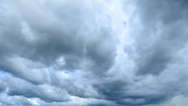 Storm Cloud Rain Time Lapse 4K video