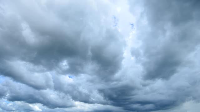 Storm Cloud Time Lapse 4K video