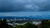 Storm Clouds above West Los Angeles Time Lapse video