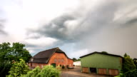 Storm clouds over Village video