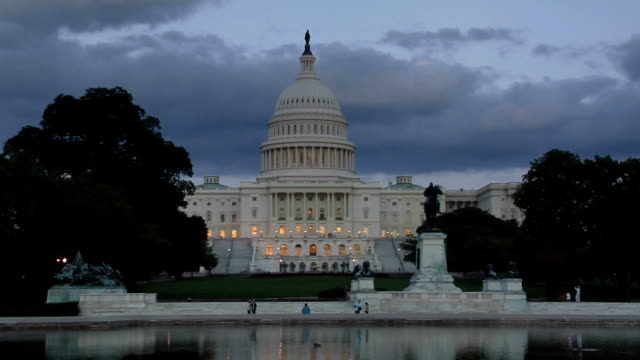 Storm Gathers over US Capitol video