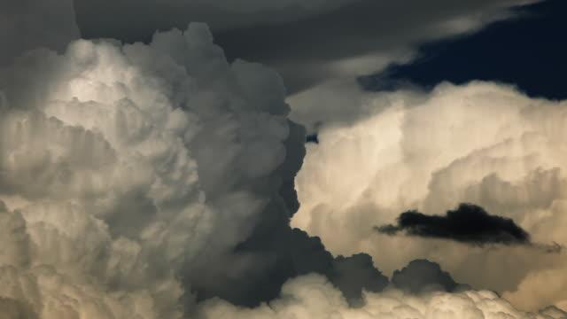 Storm. Nice light &  detail of Cumulonimbus cloud. video