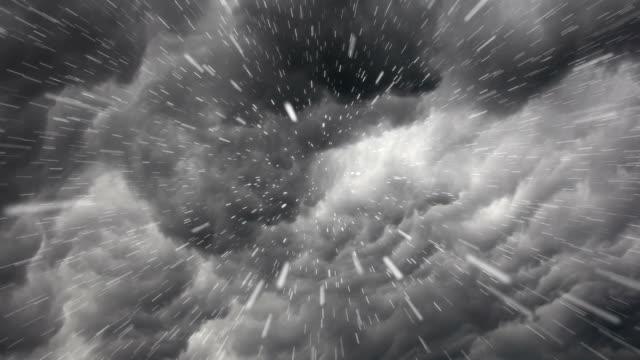 Storm - rain start video