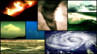 Storm Weather Montage Composition video