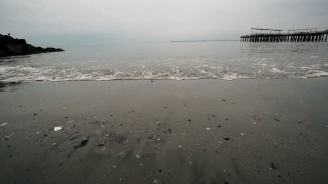 Stormy Beach video
