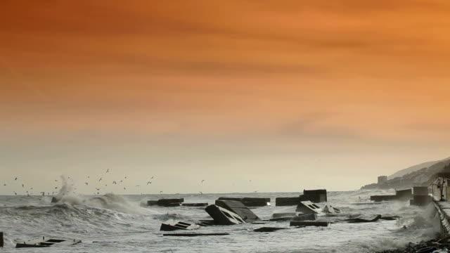 Stormy Black Sea video
