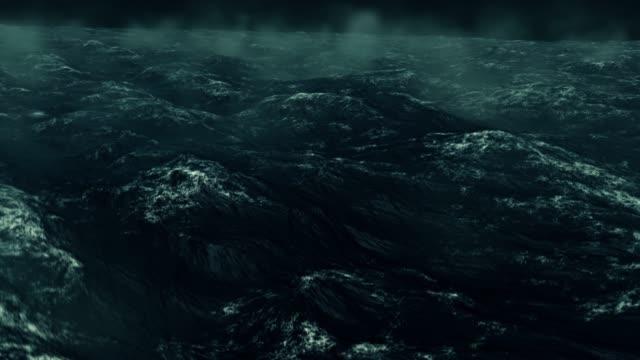 Stormy Rough Green Ocean video