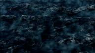 Stormy sea video