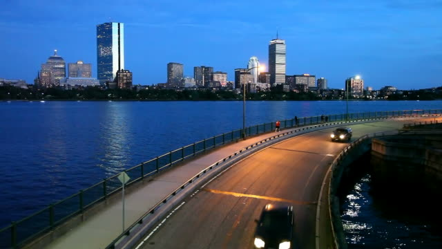 Storrow Drive in Boston video
