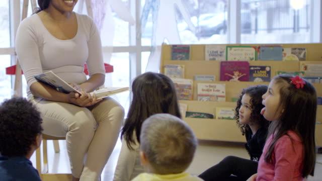 Storytelling in Preschool video