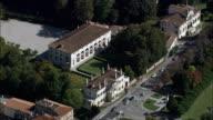 Stra - Aerial View - Veneto, Provincia di Verona, Soave, Italy video